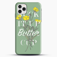 Load image into Gallery viewer, Suck It Up Buttercup iPhone 11 Pro Case, Black Snap 3D Case | JoeYellow.com