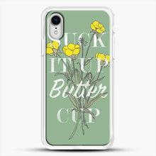 Load image into Gallery viewer, Suck It Up Buttercup iPhone XR Case, White Rubber Case | JoeYellow.com