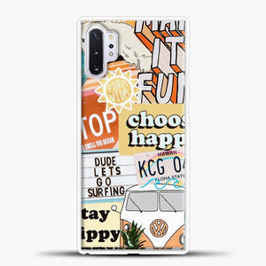 Summer Collage Samsung Galaxy Note 10 Plus Case