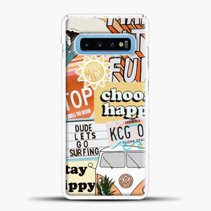 Summer Collage Samsung Galaxy S10 Case