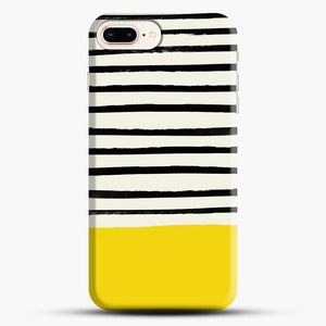 Sunshine X Stripes iPhone 7 Plus Case, Black Snap 3D Case | JoeYellow.com