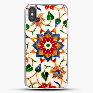 Taj Mahal Floral Design iPhone Case