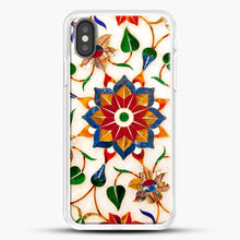 Load image into Gallery viewer, Taj Mahal Floral Design iPhone Case