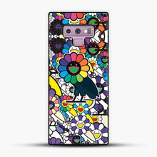 Load image into Gallery viewer, Takashi Murakami X Ovo Samsung Galaxy Note 9 Case, Black Plastic Case | JoeYellow.com