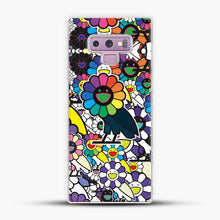 Load image into Gallery viewer, Takashi Murakami X Ovo Samsung Galaxy Note 9 Case, White Plastic Case | JoeYellow.com