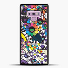 Load image into Gallery viewer, Takashi Murakami X Ovo Samsung Galaxy Note 9 Case, Black Rubber Case | JoeYellow.com