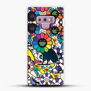 Takashi Murakami X Ovo Samsung Galaxy Note 9 Case, Black Snap 3D Case | JoeYellow.com