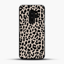 Load image into Gallery viewer, Tan Leopard Samsung Galaxy S9 Plus Case