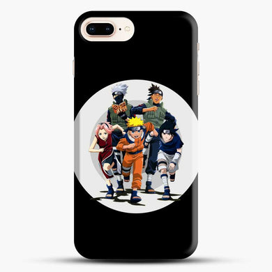 Team 7 Generation Naruto Circle iPhone 7 Plus Case, Black Snap 3D Case | JoeYellow.com