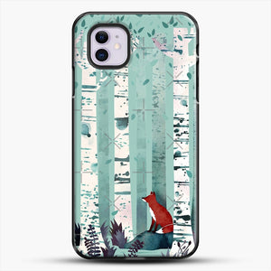 The Birches iPhone 11 Case, Black Plastic Case | JoeYellow.com