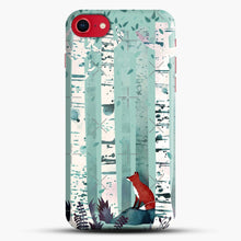 Load image into Gallery viewer, The Birches iPhone 8 Case, Black Snap 3D Case | JoeYellow.com