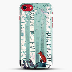 The Birches iPhone 8 Case, Black Snap 3D Case | JoeYellow.com