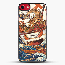 Load image into Gallery viewer, The Great Ramen Off Kanagawa iPhone 7 Case, Black Plastic Case | JoeYellow.com