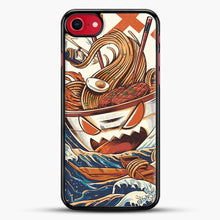 Load image into Gallery viewer, The Great Ramen Off Kanagawa iPhone 7 Case, Black Rubber Case | JoeYellow.com
