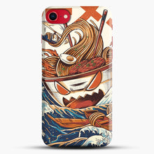 Load image into Gallery viewer, The Great Ramen Off Kanagawa iPhone 7 Case, Black Snap 3D Case | JoeYellow.com