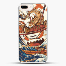 Load image into Gallery viewer, The Great Ramen Off Kanagawa iPhone 7 Plus Case, White Plastic Case | JoeYellow.com