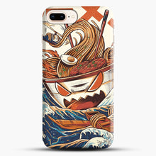 Load image into Gallery viewer, The Great Ramen Off Kanagawa iPhone 7 Plus Case, Black Snap 3D Case | JoeYellow.com