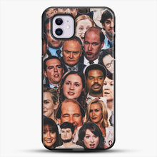 Load image into Gallery viewer, The Office Collage iPhone 11 Case, Black Plastic Case | JoeYellow.com