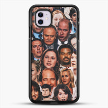 Load image into Gallery viewer, The Office Collage iPhone 11 Case, Black Rubber Case | JoeYellow.com