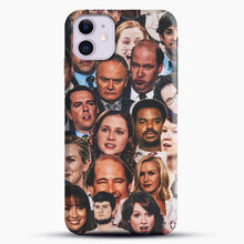 Load image into Gallery viewer, The Office Collage iPhone 11 Case, Black Snap 3D Case | JoeYellow.com
