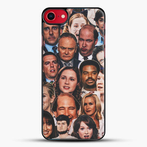 The Office Collage iPhone 8 Case, Black Plastic Case | JoeYellow.com