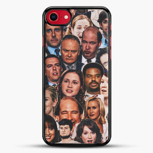 The Office Collage iPhone 8 Case, Black Rubber Case | JoeYellow.com