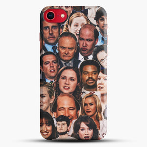 The Office Collage iPhone 8 Case, Black Snap 3D Case | JoeYellow.com