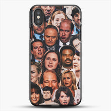 Load image into Gallery viewer, The Office Collage iPhone X Case, Black Plastic Case | JoeYellow.com