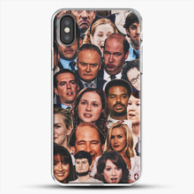 Load image into Gallery viewer, The Office Collage iPhone X Case, White Plastic Case | JoeYellow.com