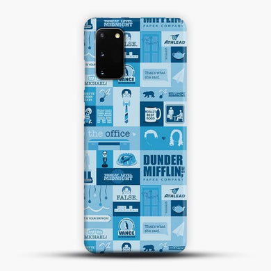 The Office Samsung Galaxy S20 Case, Snap 3D Case | JoeYellow.com