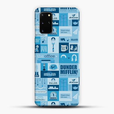 The Office Samsung Galaxy S20 Plus Case, Snap 3D Case | JoeYellow.com