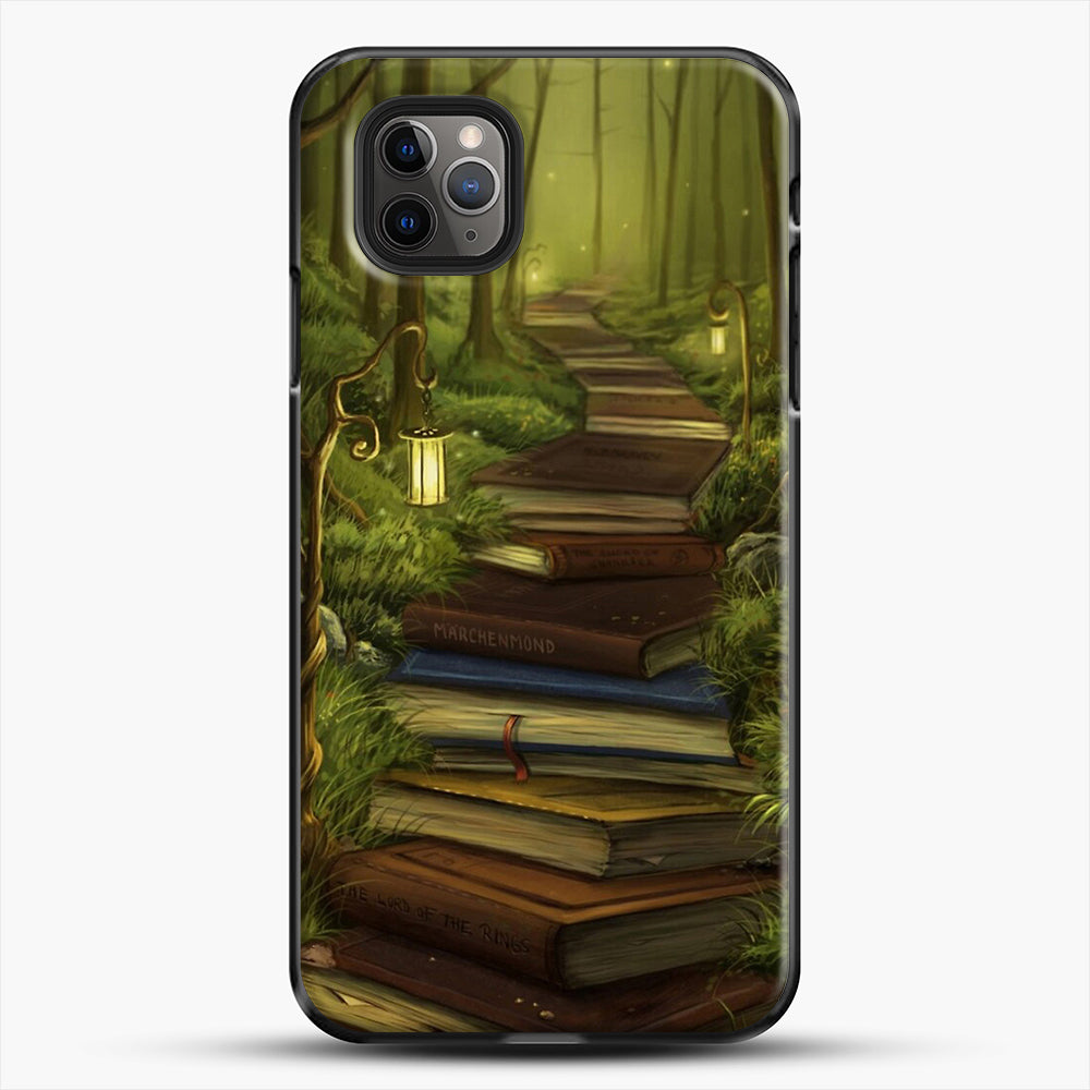 The Readers Path iPhone 11 Pro Max Case, Black Plastic Case | JoeYellow.com