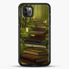 Load image into Gallery viewer, The Readers Path iPhone 11 Pro Max Case, Black Rubber Case | JoeYellow.com