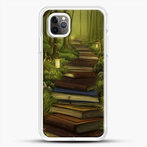 The Readers Path iPhone 11 Pro Max Case, White Rubber Case | JoeYellow.com