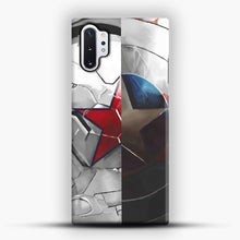 Load image into Gallery viewer, The Shield and the Soldier Samsung Galaxy Note 10 Plus Case