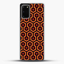 Load image into Gallery viewer, The Shining Overlook Hotel Carpet Samsung Galaxy S20 Case, Black Plastic Case | JoeYellow.com
