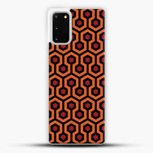 Load image into Gallery viewer, The Shining Overlook Hotel Carpet Samsung Galaxy S20 Case, White Plastic Case | JoeYellow.com