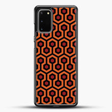 Load image into Gallery viewer, The Shining Overlook Hotel Carpet Samsung Galaxy S20 Case, Black Rubber Case | JoeYellow.com
