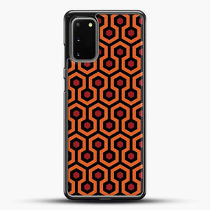 The Shining Overlook Hotel Carpet Samsung Galaxy S20 Case, Black Rubber Case | JoeYellow.com