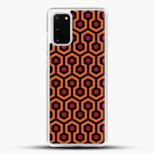 Load image into Gallery viewer, The Shining Overlook Hotel Carpet Samsung Galaxy S20 Case, White Rubber Case | JoeYellow.com