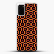 Load image into Gallery viewer, The Shining Overlook Hotel Carpet Samsung Galaxy S20 Plus Case, White Plastic Case | JoeYellow.com