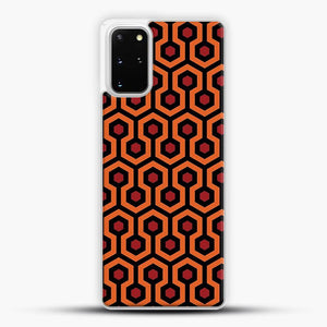 The Shining Overlook Hotel Carpet Samsung Galaxy S20 Plus Case, White Plastic Case | JoeYellow.com