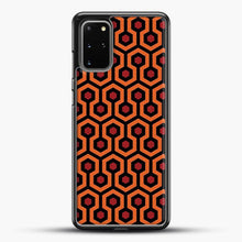 Load image into Gallery viewer, The Shining Overlook Hotel Carpet Samsung Galaxy S20 Plus Case, Black Rubber Case | JoeYellow.com