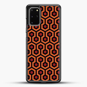 The Shining Overlook Hotel Carpet Samsung Galaxy S20 Plus Case, Black Rubber Case | JoeYellow.com