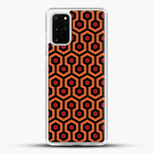 Load image into Gallery viewer, The Shining Overlook Hotel Carpet Samsung Galaxy S20 Plus Case, White Rubber Case | JoeYellow.com