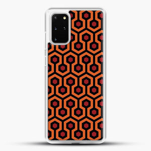 The Shining Overlook Hotel Carpet Samsung Galaxy S20 Plus Case, White Rubber Case | JoeYellow.com