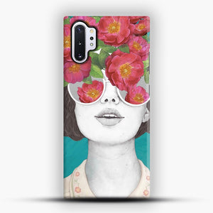 The optimist rose tinted glasses Samsung Galaxy Note 10 Plus Case