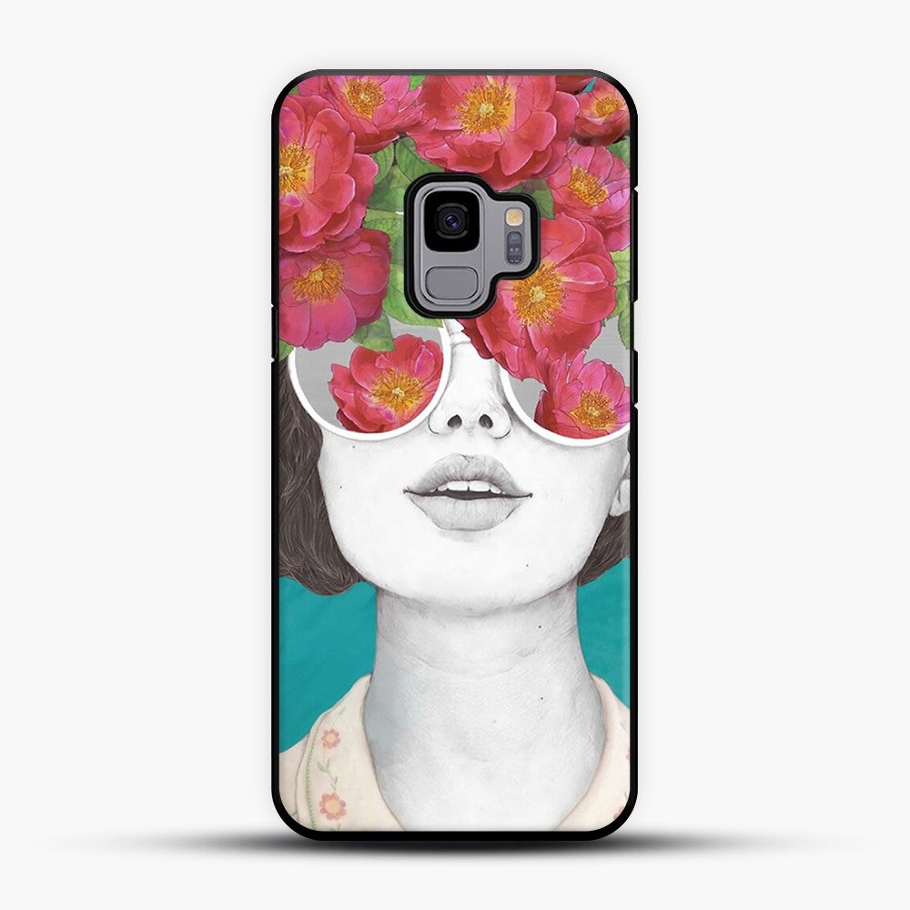The optimist rose tinted glasses Samsung Galaxy S9 Case