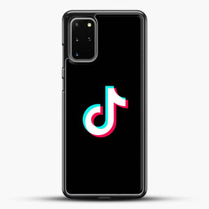 Tik Tok Samsung Galaxy S20 Plus Case, Black Rubber Case | JoeYellow.com