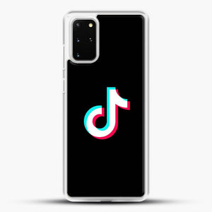 Tik Tok Samsung Galaxy S20 Plus Case, White Rubber Case | JoeYellow.com